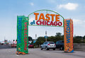 Taste of Chicago Party Royalty Free Stock Image