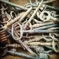 Tasti Fotografie Stock