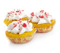 Tasty cupcakes Royalty Free Stock Image
