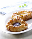 Tasty Danish Pastry Royalty Free Stock Images