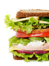 Tasty Lunch Sandwich Royalty Free Stock Photo