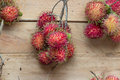 Tasty lychee fruits Royalty Free Stock Photo