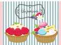 Tasty patisserie pastry pie cake a pâtisserie pronounced pɑtisʁi is the type of french or belgian bakery that specializes in Stock Photo
