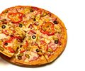 Tasty pizza with vegetables see my other works in portfolio Stock Photography