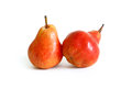 Tasty red pears Royalty Free Stock Photo