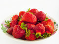 Tasty strawberry Stock Images