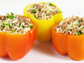 Tasty Stuffed Peppers Stock Images