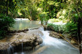 Tat Guangxi waterfall, Luang Prabang, Laos. Stock Photography
