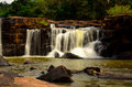 Tat ton waterfall at chaiyaphum province in thailand Stock Photography