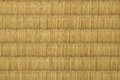 Tatami mat closeup of japanese style Royalty Free Stock Photo