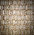 Tatami mat of japan with vignette is a it is used for flooring Royalty Free Stock Photography