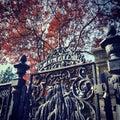 Tate`s Iron Gate Royalty Free Stock Photo