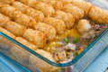 Tater Tots Casserole Royalty Free Stock Photos