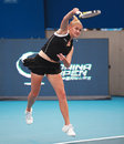 Tatiana Poutchek (BLR), professional tennis playe Royalty Free Stock Photo