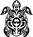 Tatouage tribal de tortue Images libres de droits