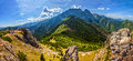 Tatra mountains in Poland Royalty Free Stock Photo