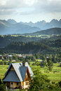 Tatra mountains in poland during summer time Stock Photos