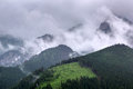 Tatra mountains in zakopane at cloudy day poland Royalty Free Stock Photo