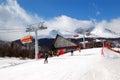 Peak Chopok in the ski resort Jasna - Slovakia