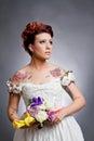 Tattoo Bride Royalty Free Stock Photo