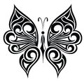 Tattoo butterfly Stock Photos
