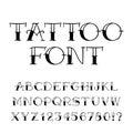 Number 7 fire. Flames Font seven. Tattoo alphabet character. fie