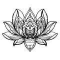 Tattoo Lotus, Buddhism