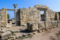 Tauric Chersonesos, national preserve to the West of Sevastopol Royalty Free Stock Photo