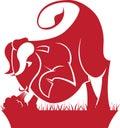 Taurus Zodiac/Horoscope Symbol Royalty Free Stock Photo