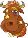 Taurus zodiac sign Royalty Free Stock Images