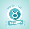 Taurus zodiac sign Royalty Free Stock Photo