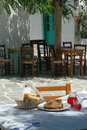 Taverna lunch Royalty Free Stock Photography