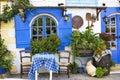 Taverna in Malia, Crete Royalty Free Stock Photo