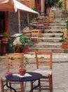 Taverna, Plaka, Athens Royalty Free Stock Photo