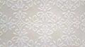 Tavertino romano seamless pattern with floral motifs in retro Stock Photos