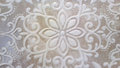 Tavertino romano seamless pattern with floral motifs in retro Stock Photography