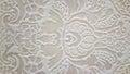 Tavertino romano seamless pattern with floral motifs in retro Stock Image