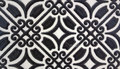 Tavertino romano seamless pattern with floral motifs in retro Royalty Free Stock Images