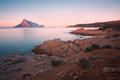 Tavolara island, Sardinia. Royalty Free Stock Photo