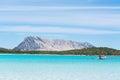 Tavolara island Royalty Free Stock Photo