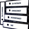 Tax and Accountancy Files Royalty Free Stock Photo