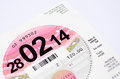 Tax Disc Stock Photos