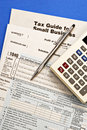 Tax Forms #1 Royalty Free Stock Photo