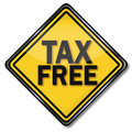 Tax free Royalty Free Stock Photo