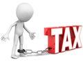 Tax hurdle Royalty Free Stock Photo