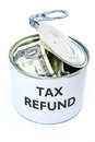 Tax refund Royalty Free Stock Photo