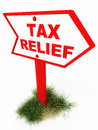 Tax relief Stock Photography