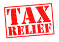 TAX RELIEF Royalty Free Stock Photo