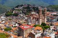 Taxco aerial I Royalty Free Stock Photo