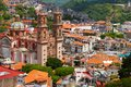 Aerial view of the city of Taxco, in guerrero, mexico. II Royalty Free Stock Photo